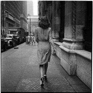 street-conversations-woman-walking-down-the-street
