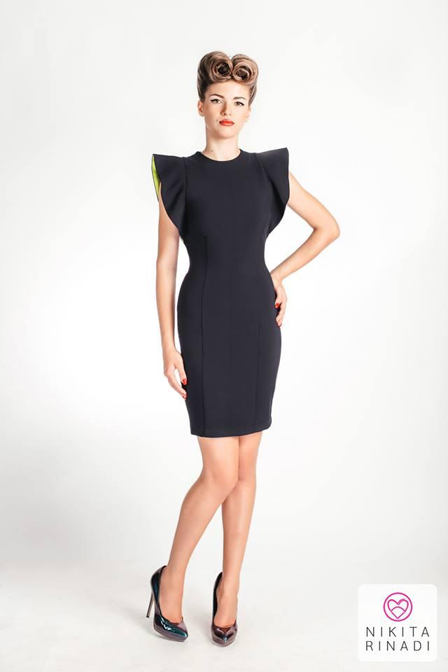 black dress nikita rinadi
