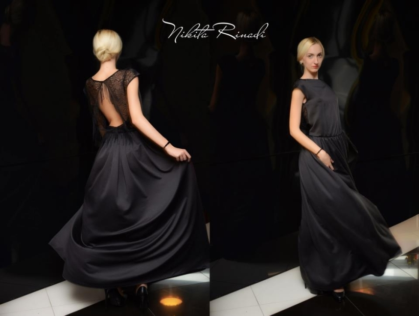 nikita rinadi maxi black dress