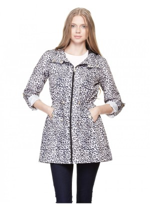 aminal print jacket