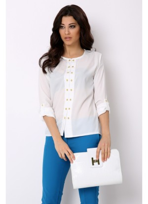 style avenue blouse white