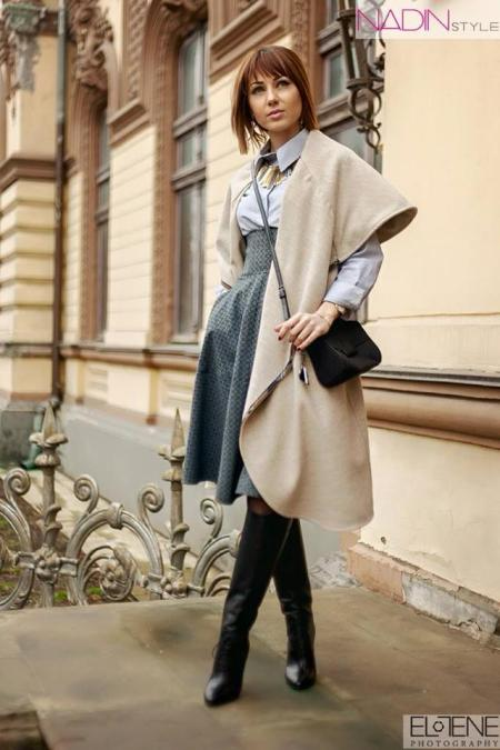 nikita rinadi cape coat