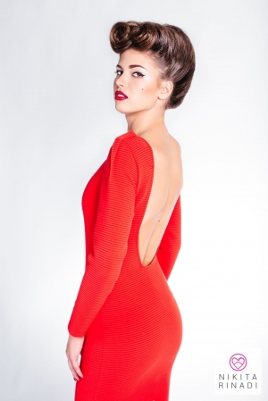 red dress nikita rinadi