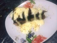 tarta de ciocolata cu pere cu crema englezeasca